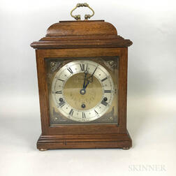 Contemporary Shreve, Crump & Low Mahogany Bracket Clock
