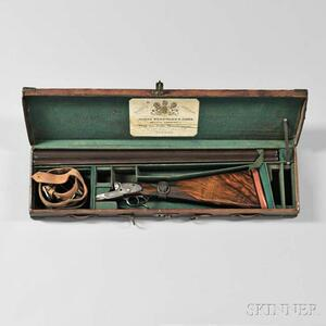 "James Woodward & Sons Snap-action Sidelock 12 Gauge Double-barrel Shotgun ""The Automatic"" in Maker's Case"