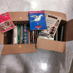 Two Boxes of Books on American Folk and Decorative Arts
