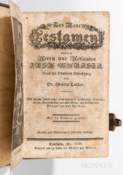 Leather-bound Testament