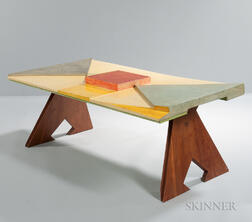 Modernist Painted Coffee Table
