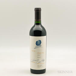 Opus One 2000, 1 bottle