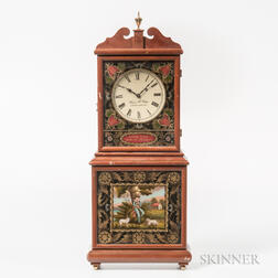 "Miniature Wayne Cline ""Aaron Willard"" Shelf Clock"