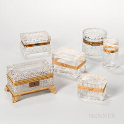 Six Crystal Boxes