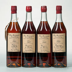 Armagnac, 4 750ml bottles