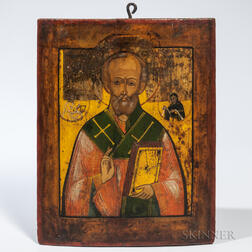 Russian Icon of Saint Nicholas