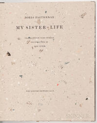 Pastnernak, Boris (1890-1960) My Sister-Life  , Illustrated and Signed by Yuri Kuper.