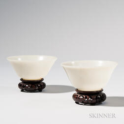Pair of Jade Bowls