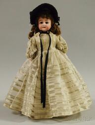Early Simon Halbig Bisque Shoulder Head Doll