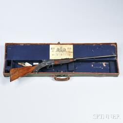 Watson Brothers Martini-action Single-shot Rifle with Maker's Case