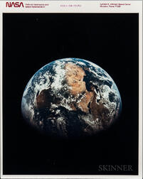 Apollo 11, View of Earth, July 1969.