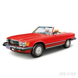 1987 Mercedes Benz, 560SL