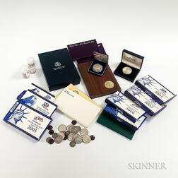 Group of American Coins, Mint Sets, Proof Sets, and Commemorative Coins