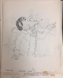 Snyder, Jerome (1916-1976) Approximately Forty-five Original Drawings for Reader