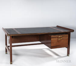"Ib Kofod Larsen ""Queen of Sheba"" Executive Desk"