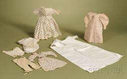 Group of Early Doll Clothing