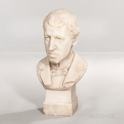 Marble Bust of a Gentleman