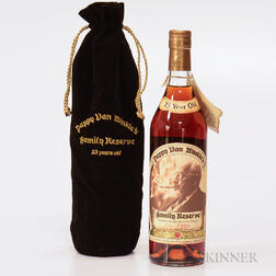 Pappy Van Winkle's Family Reserve 23 Years Old, 1 750ml bottle