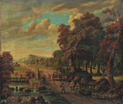 Flemish School, 17th/18th Century      Dutch Landscape