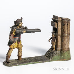 "Cast Iron ""William Tell"" Mechanical Bank"