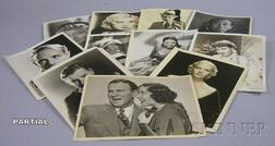 Approximately 175 Movie Studio and Theater Publicity Portrait and Still   Photographs