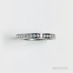 Platinum and Diamond Eternity Band, Cartier
