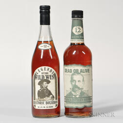Mixed Bourbon 12 Years Old, 2 750ml bottles