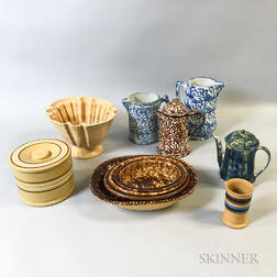 Eleven Ceramic Tableware Items