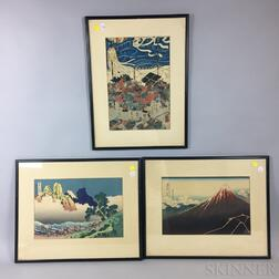Six Woodblock Prints
