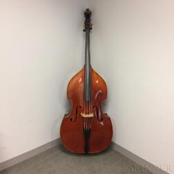 Three-quarter Size Student Contrabass, Cleveland Violins, 2010