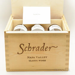 Schrader Cellars Mixed Case, 6 bottles (owc)