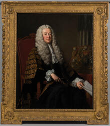 Attributed to Thomas Hudson (United Kingdom, 1701-1779)      Portrait of Philip Yorke, 1st Earl of Hardwicke (1690-1764)