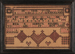 """Mary Kirkled"" Sampler Pattern"