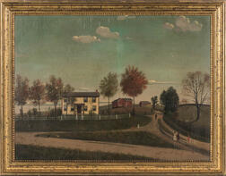 American School, Late 19th Century      New Jersey Farmscape