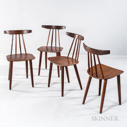Four Danish Dining Chairs