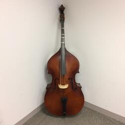 Half Size Student Contrabass, Christopher, 2008