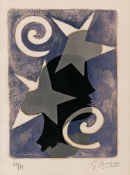 Georges Braque (French, 1882-1963)      Profil