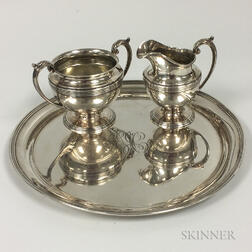 Three Pieces of Reed & Barton Sterling Silver Tableware