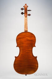 French Violin, Joseph Vautrin, Chaumont, 1923