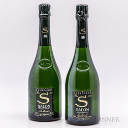 Salon Blanc de Blancs 1996, 2 bottles