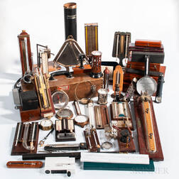Extensive Collection of Scientific Instruments and Apparatus