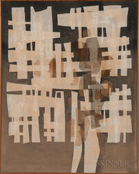 Si Lewen (American, 1918-2016)      Abstract Collage