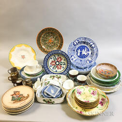 Approximately Fifty Ceramic Tableware Items