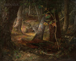 Peter Fishe Reed (American, 1817-1887) and Joseph H.S. Reed (American, b. 1842)      Forest Brook