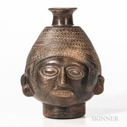 Chavin Head Vessel
