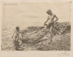 Anders Zorn (Swedish, 1860-1920)      Seaward Skerries
