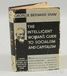 Shaw, George Bernard (1856-1950) Two Volumes: