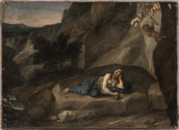 Italian School, 16th Century Style      The Vision of Mary Magdalene