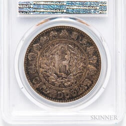 1914 Republic of China $1, PCGS MS62 Gold Shield