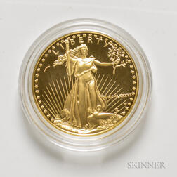 1986 $50 Proof American Gold Eagle.